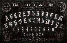 Framed Print - Black Physic Ouija Board (Picture Poster Art Ghost Magic Medium)