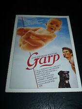 THE WORLD ACCORDING TO GARP, film card [Robin Williams]