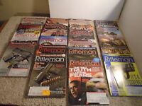 LOT OF 20 - THE AMERICAN RIFLEMAN MAGAZINE (2012 - 2019) FIREARMS GUNS NRA