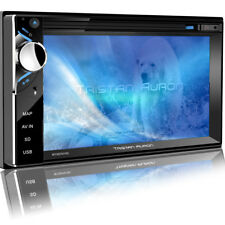 AUTORADIO AVEC ÉCRAN DAB + Bluetooth Navigation Navi CD DVD 2 Din USB mp3 SD