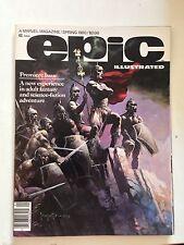 Epic Illustrated #1/Bronze Age Marvel Magazine/Frank Frazetta/NM-
