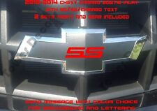 2010-2014 CHEVY CAMARO BOWTIE VINYL INLAY/OVERLAY FRONT AND REAR SS/RS ACCENTS