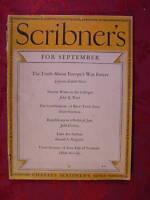 SCRIBNER's September 1934 LIDDELL HART JOHN R. TUNIS