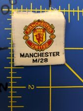 Manchester United Fc Football Club F.C. Patch Tag Soccer England Premier League