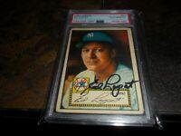 1952 Topps AUTO Autograph #57 Ed Lopat NEW YORK Yankees PSA/DNA Authentic D.1992