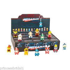 "Kidrobot Mega Man Keychain Series 1.5"" Figures Case - New - 20 Count - Megaman"