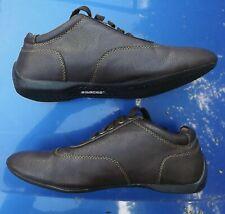 Sparco Conducción Zapatos Imola Marrón Cuero Sintético Con Cordones Talla 6/EU39