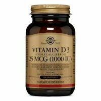 Vitamin D3 (Cholecalciferol) 100 S Gels 1000 IU