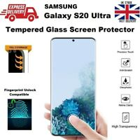 Full Size 3D Curved Tempered Glass Screen Protector for Samsung Galaxy S20 Ultra