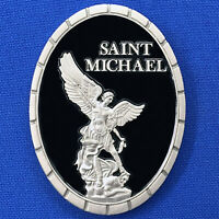 Saint Michael - Local State Fed Military Police - Protect & Serve Challenge Coin