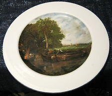 Gorgeous Royal Doulton Decorative plate with Constable scene approx 10 1/2 ins
