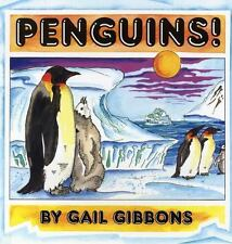 Penguins! by Gail Gibbons Birds Science Animal Life Gr K-3