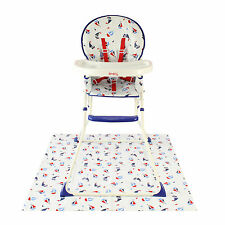 NEW RED KITE SHIPS AHOY BLUE FEED ME COMPACT HIGHCHAIR BABY BOYS FEEDING CHAIR