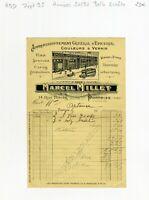Dépt 95 - Pontoise 14 Rue Thiers - Belle Entête d'un Commerce des Années 1920/30