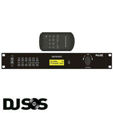 "Pulse TU-201 DAB & FM Radio Tuner 1U 19"" Rack Mount 40 Preset Memory"