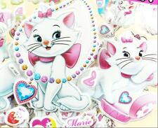 Stickers Lot Children favor cartoon Marie Cat Stereoscopic PVC Puffy party gifts