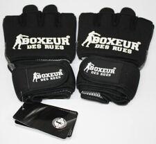BOXEUR DES RUES Boxhandschuhe BXT-5142 Neopren fit Schwarz L-XL