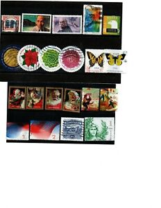 U.S. - nice selection of 21 different recent VF/U
