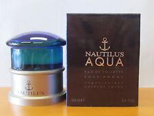 Vintage Nautilus Aqua Pour homme 3.4 oz Eau de toilette Spray NIB Seal