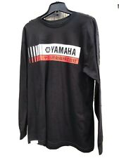 YAMAHA MotoGP Shirt Mens L/S Large NEW