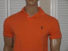 Magliette da uomo arancione Ralph Lauren