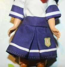 "Navy/White School Girl Uniform Dress Only fits Betsy McCall 8"" Doll Unbranded"