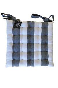 RANS Alfresco Stripe Chair Pad Seat Cushions Office Cushion Square Soft Sofa Mat