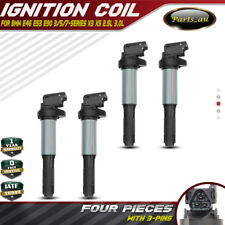 Set of 4 Ignition Coils for BMW E46 E87 E88 E90 116i 120i 316i 318i 320i 325i