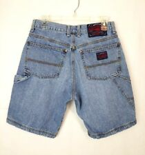 Lucky Brand Mens VTG Light Wash Carpenter Cotton Denim Jean Shorts Sz 29 1/2