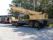 30 Ton P&H Hydraulic Crane (1974) 90' Main, Fly & Jib, 130' Total, Runs Good