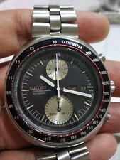 Anni 1970 CRONOGRAFO SEIKO UFO 6138-0011 grandi dimensioni Inox Rubare Men's Watch