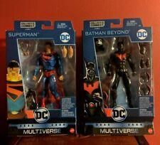 DC Multiverse BATMAN BEYOND Wave KINGDOM COME SUPERMAN SET 10 BAF LOBO