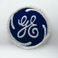 "Vintage Uniform Patch - GE - General Electric - 2"" - Embroidered - Collectible"