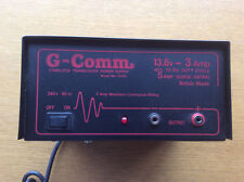 G-Comm GC03 Stabilised Tranceiver Power Supply 13.8v 3a, 5a Surge Rating, Radio