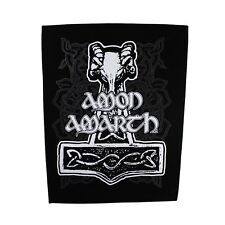 XLG Amon Amarth Odin's Hammer Back Patch Melodic Death Metal Sew On Applique