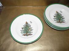 """spode christmas tree rimmed soup bowl 9"""" diameter"""