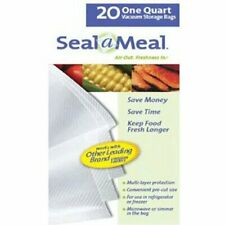 New listing Seal-A-Meal quart size bags (20-pack)