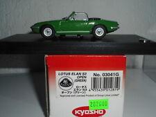 LOTUS ELAN S3  cabriolet 1/43  KYOSHO Japon + BOITE N°93