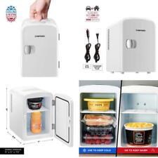 El refrigerador personal compacto enfría y calienta la capacidad de 4 litros