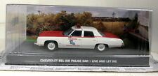 SCALA 1/43 James Bond 007 CHEVROLET BEL AIR POLICE LIVE & Let Die Modello Diecast