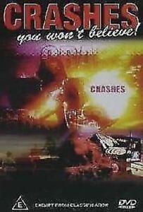 Crashes You Won't Believe (DVD, 2004)