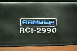 Ranger RCI-2990 with Rack Handles installed Signature Series CB Radio Dust Cover