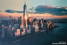 (LAMINATED) NY CITY ONE WORLD TRADE CENTER POSTER (61x91cm)  NEW WALL ART