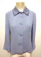 LUISA SPAGNOLI Giacca Camicia Donna Seta Silk Woman Shirt Jacket Sz.S - 42