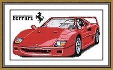 """NEW Cross Stitch Kits""""Red car"""""""