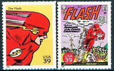he Flash - Complete Set of 2 Scarce MNH US Postage Stamps Scott's 4084f & 4084p