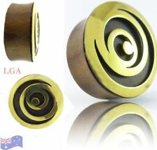 Brass Tunnel/Plug Body Piercing Jewellery