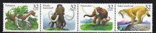 Sc# 3080a 32 Cent Prehistoric Animals (1996) MNH Strip/4 SCV $2.80