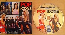 Pop ICONS CD Kylie Did It Again Christina N Sync Big Mistake Five Republica