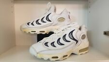 Vintage Nike Airmax Men's Sneakers White/Blue Size 12 Rare Clean
